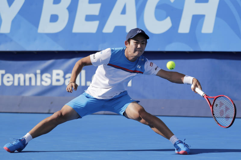 Reilly Opelka tops Yoshihito Nishioka to win Delray Beach Open