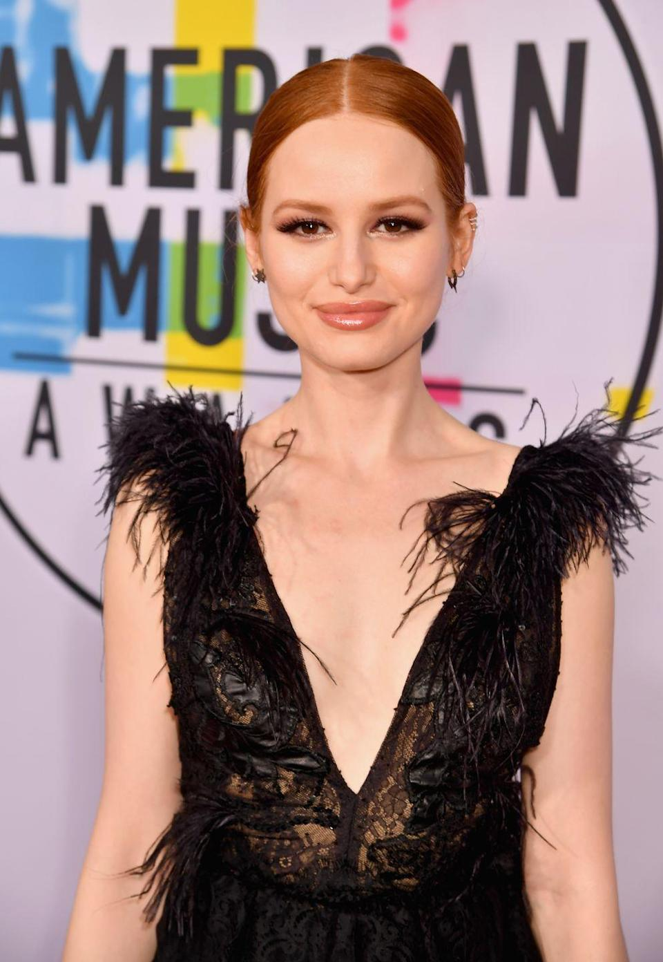 """<p>Before taking on the role of Cheryl Blossom on <em>Riverdale</em>, Madelaine worked <a href=""""https://www.cosmopolitan.com/entertainment/celebs/a19831166/madelaine-petsch-career-how-video/"""" rel=""""nofollow noopener"""" target=""""_blank"""" data-ylk=""""slk:three different jobs"""" class=""""link rapid-noclick-resp"""">three different jobs</a>. She opened a coffee shop in the morning, assisted a photographer, and hosted at a Beverly Hills restaurant. On top of all of that, she auditioned for roles.<br></p>"""