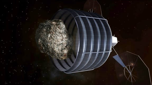 NASA Completes First Review of Asteroid-Capture Concepts