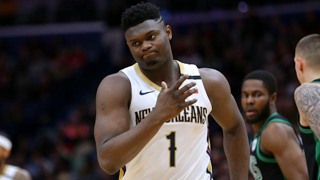 "After a month and 11 games, Zion Williamson is getting ""a little bit comfortable"" but still learning in the NBA."