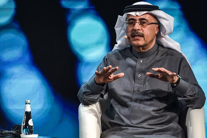 Amin Nasser, president and chief executive officer of Saudi Aramco. Photo: Fayez Nureldine/AFP via Getty Images