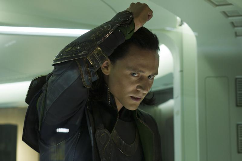 Tom Hiddleston as Loki in 2012's Avengers Assemble. (Disney/Marvel Studios)