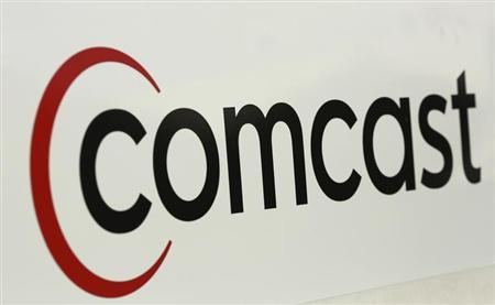 A Comcast sign is shown in San Francisco