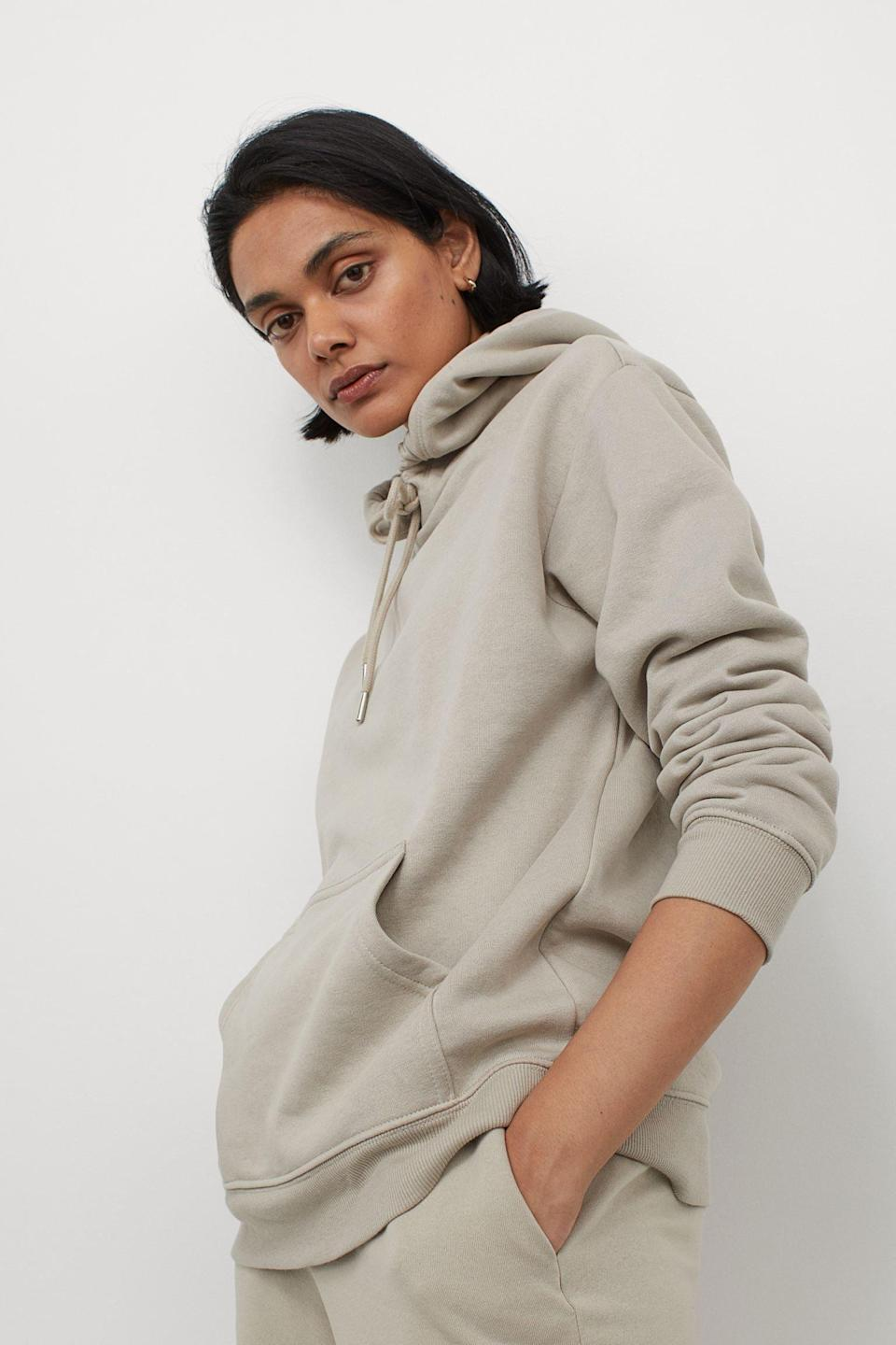 <p>You just can never go wrong with an oversized <span>Hoodie</span> ($20). </p>