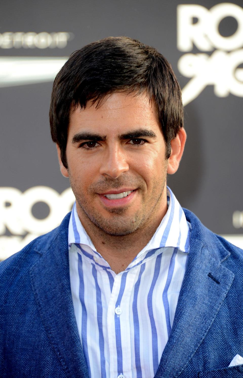"<b>Eli Roth:</b> ""Thinking of everyone in Aurora. Too upsetting for words."" (Photo by Frazer Harrison/Getty Images)"