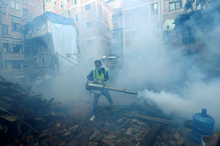 There is no existing treatment for dengue, with efforts mostly focused on preventing transmission (AFP/PRAKASH MATHEMA)