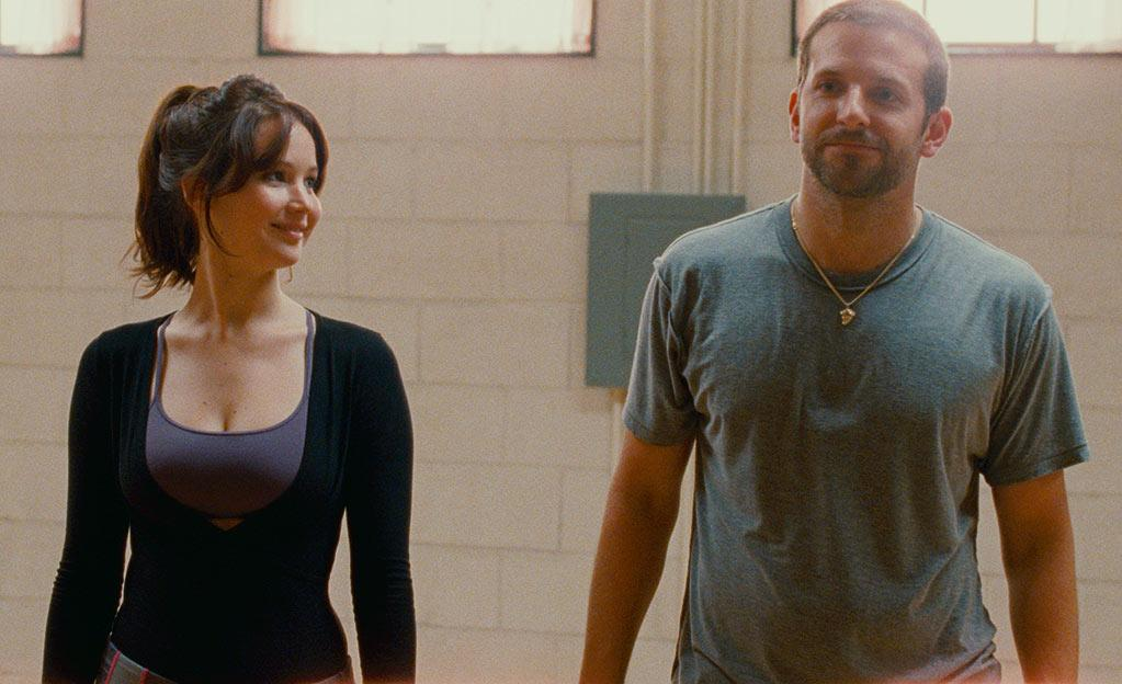 """Jennifer Lawrence and Bradley Cooper in The Weinstein Company's """"Silver Linings Playbook"""" - 2012"""