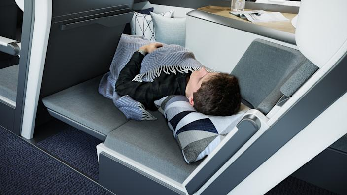 The clever design means everyone could lie down. (Zephyr Aerospace)