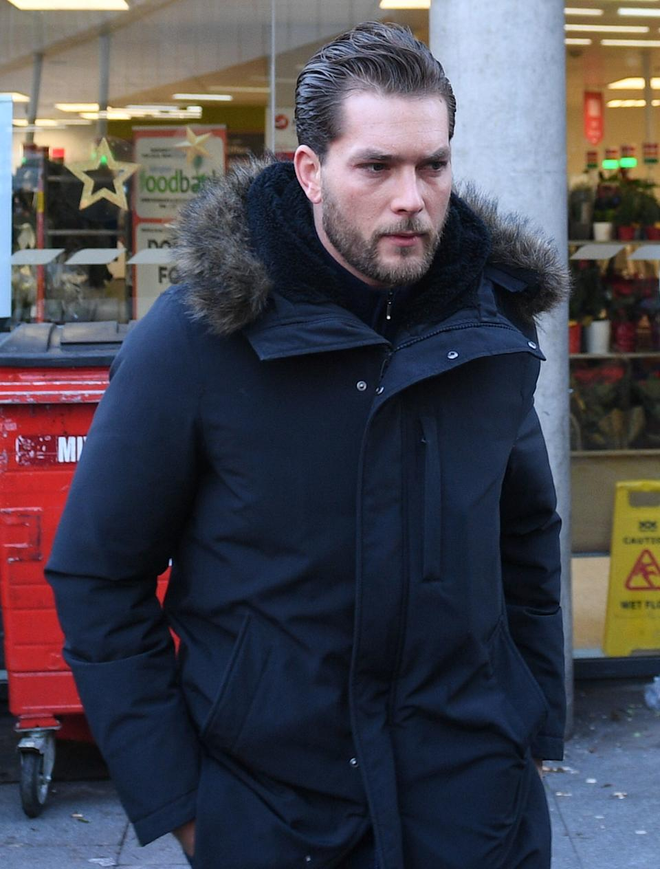 File photo dated 23/12/2019 of Lewis Burton, the former boyfriend of he TV presenter Caroline Flack who has died, her family said in a statement.