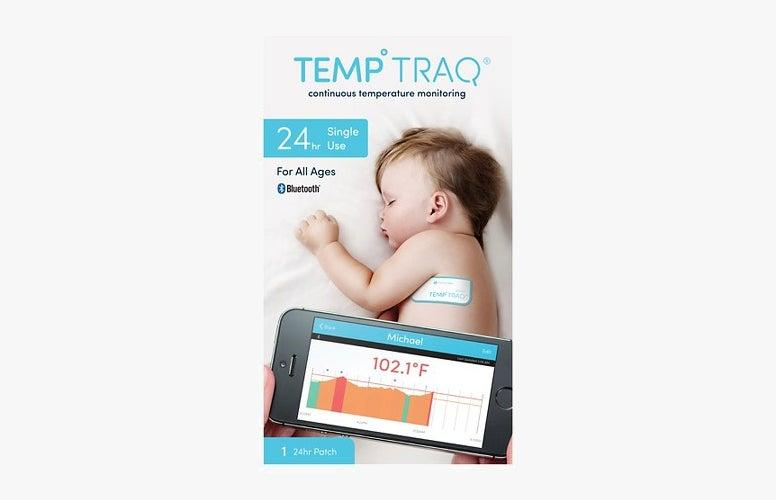 TempTraq Wireless Thermometer -- ces 2017