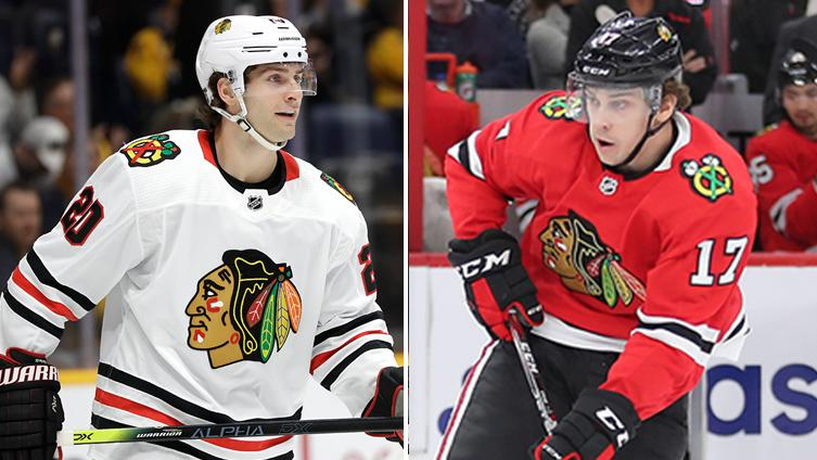 Brandon Saad and Dylan Strome are skating, but when will they return for Blackhawks?