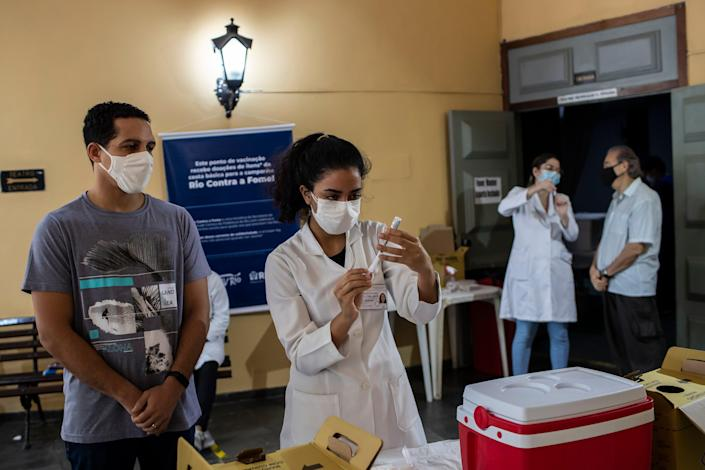 Virus Outbreak Brazil (Copyright 2021 The Associated Press. All rights reserved.)