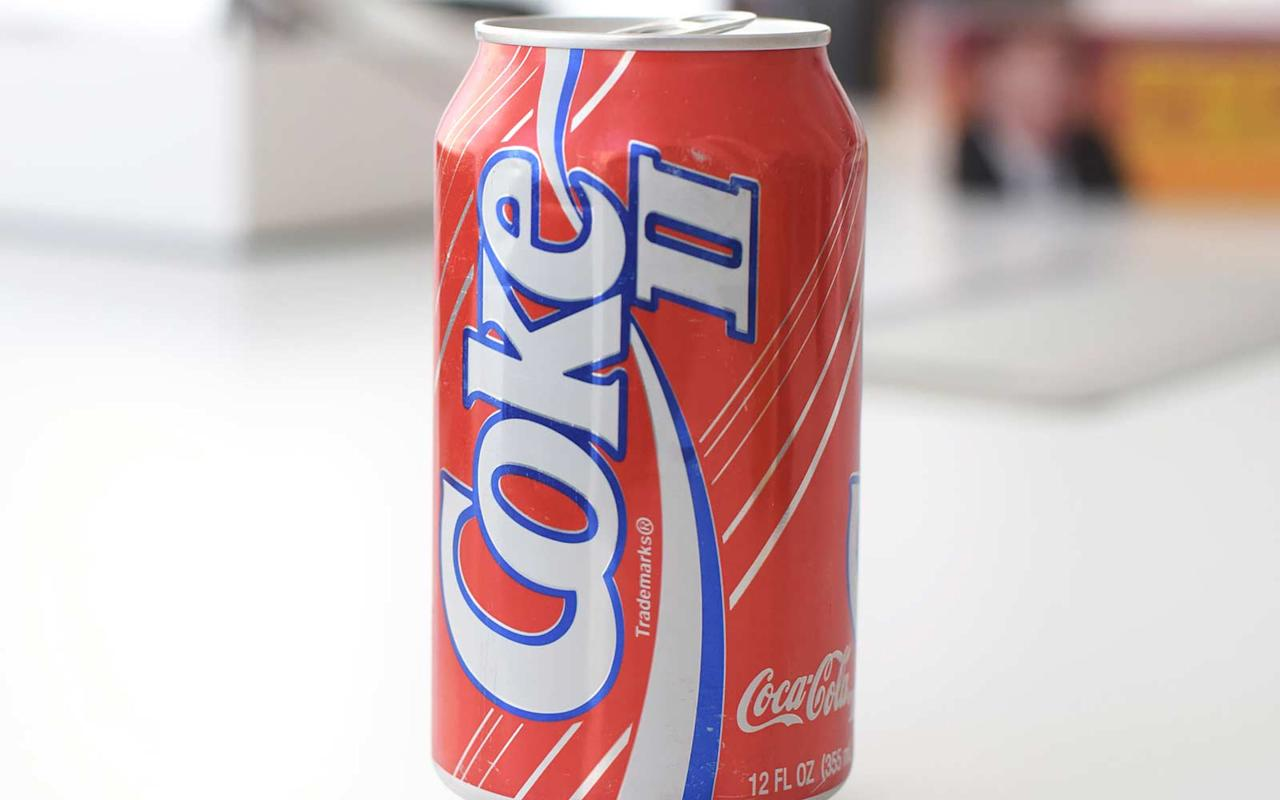 """<p>Sometimes you just have to leave a good thing as is. In 1984, Coca-Cola tried something new with """"New Coke"""" or """"Coke II."""" But consumers did not like the taste and within months, began selling the original formula again. The company sold Coke II until 2002.</p>"""