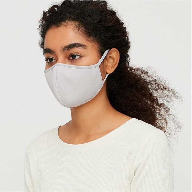 <p>Every layer of the <span>Uniqlo AIRism Mask</span> ($15 for three) is working hard for you. The first layer wicks away moisture; the second has a washable, built-in filter; and the third blocks UV rays. You can buy it in three neutral colors.</p>