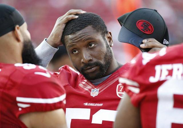 The 49ers denied a rumor that NaVorro Bowman could be traded. (AP)