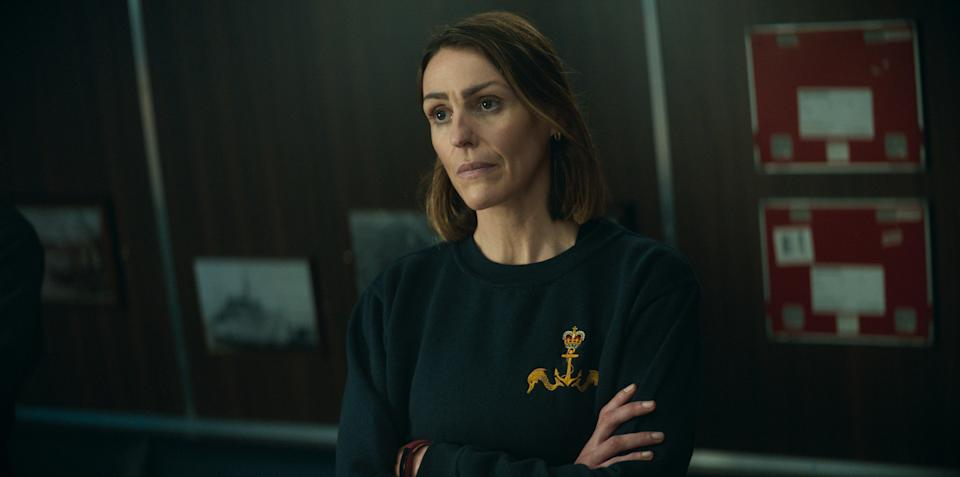 WARNING: Embargoed for publication until 00:00:01 on 14/09/2021 - Programme Name: Vigil - TX: n/a - Episode: n/a (No. 5) - Picture Shows:  Amy Silva (SURANNE JONES) - (C) World Productions - Photographer: Screengrab