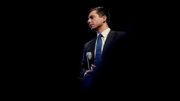 PHOTO: Pete Buttigieg, Democratic presidential candidate and former South Bend, Indiana mayor, attends the NH Youth Climate and Clean Energy Town Hall in Concord, N.H., Feb. 5, 2020. (Eric Thayer/Reuters)