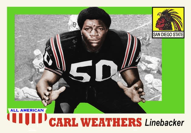 innovative design 4526f efe11 Doc Five: College football players turned famous actors – No ...