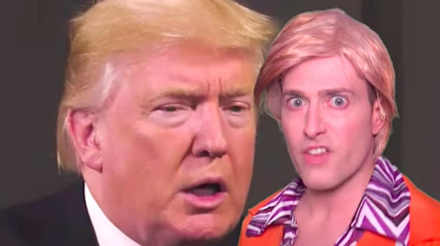 If there's anything positive about President Donald Trump's mistakes, perhaps it's that Randy Rainbow will get to sing about them.