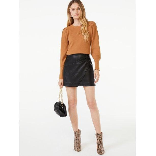 <p>Elevated basics like the <span>Women's Crewneck Puff Sleeve Sweater</span> ($32) are a must-have in your fall and winter wardrobe.</p>
