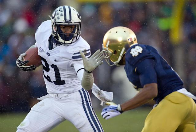 BYU running back Jamaal Williams suspended for season opener