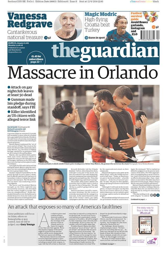 <p>The Guardian<br> Published in London, UK.(newseum.org) </p>