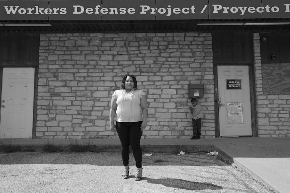 """""""It's a blessing that we can organize and that we have access to an organization that told people that they had rights as workers and as immigrants,"""" says Digna Cruz. """"They told us everything we needed to know and then we were able to teach our neighbors about where to go for help because the state didn't really tell us anything."""""""
