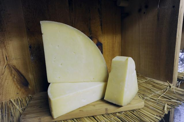 Britain has been making cheddar for centuries. Photo: Shawn Patrick Ouellette/Portland Press Herald via Getty Images