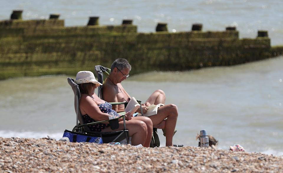 <em>People are being asked to conserve water by not using hosepipes or sprinklers as the heatwave continues (Picture: PA)</em>