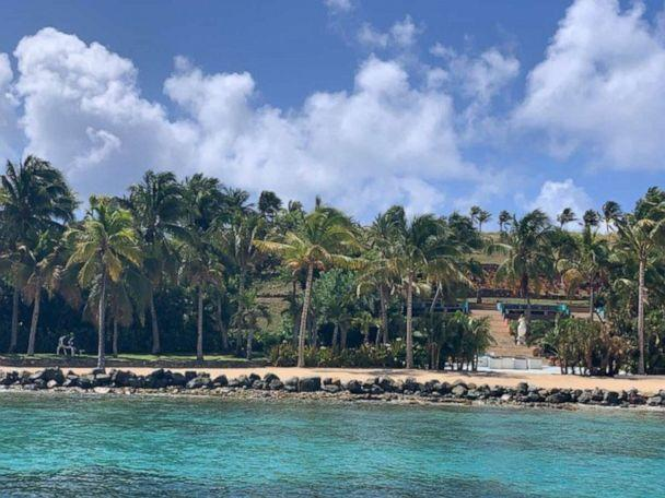PHOTO: Jeffrey Epstein's private island, dubbed 'Little St. James,' is located off the coast of St. Thomas in the U.S. Virgin Islands. (ABC News)