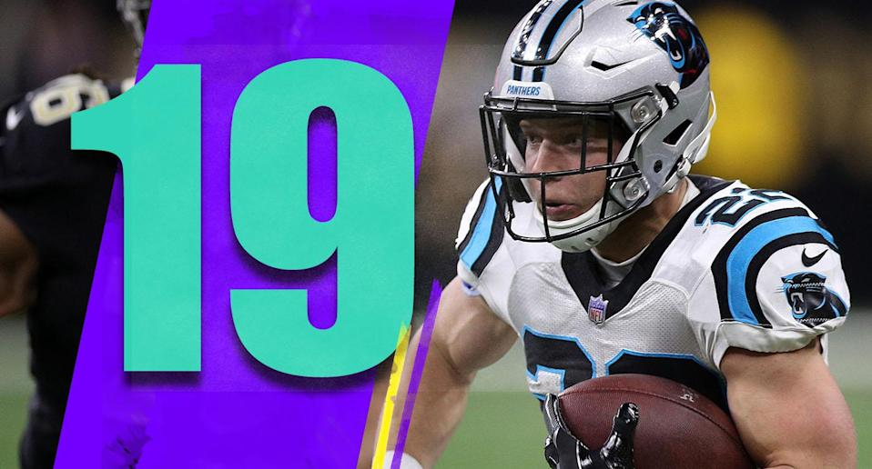 <p>It really never made sense why Ron Rivera's job security was an issue. The Panthers weren't going to hire a better coach, especially with this weak crop of candidates. Being patient and not just reacting to a bad season by firing a good coach is OK. (Christian McCaffrey) </p>