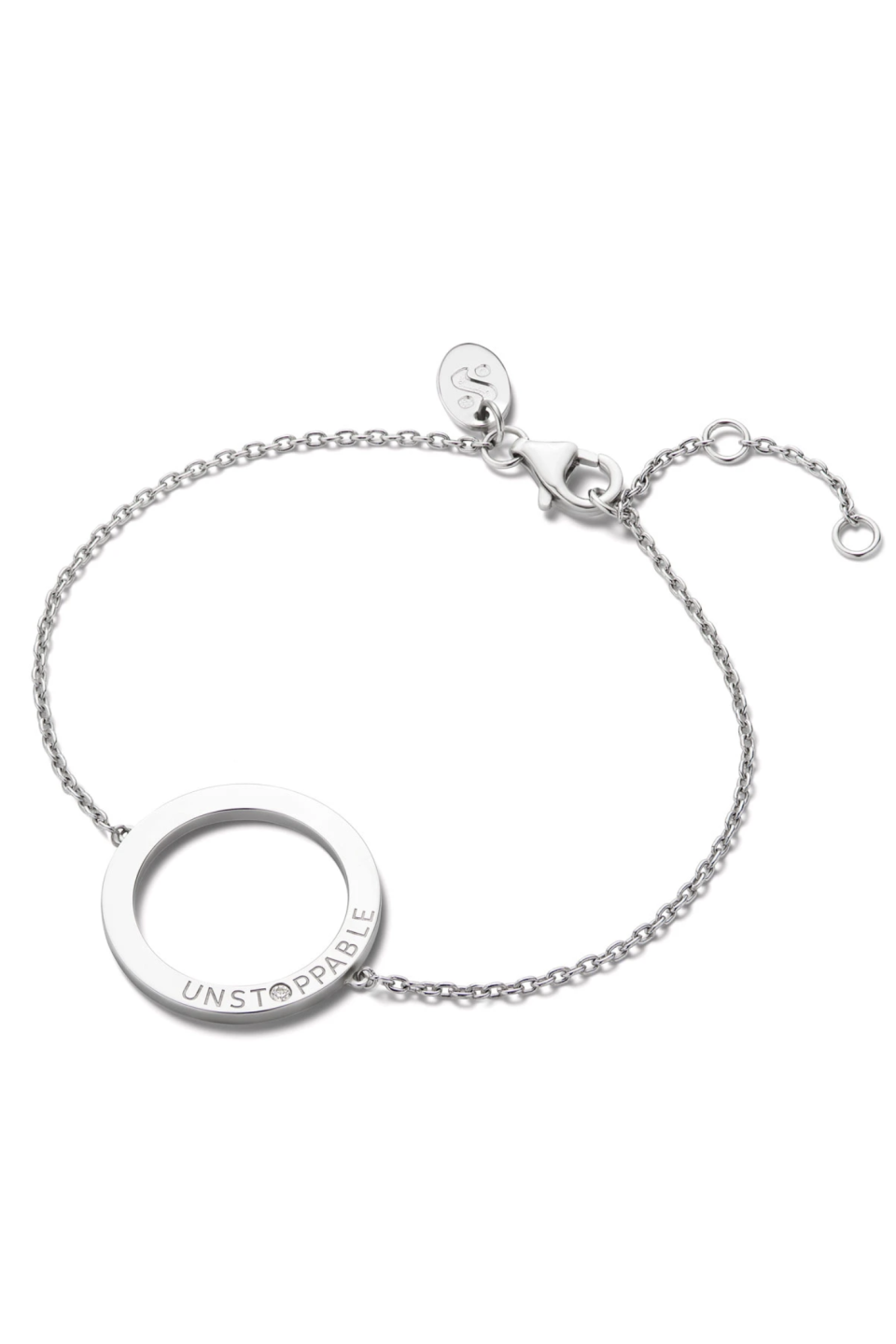 """<p><strong>Serena Williams</strong></p><p>serenawilliamsjewelry.com</p><p><strong>$100.00</strong></p><p><a href=""""https://go.redirectingat.com?id=74968X1596630&url=https%3A%2F%2Fserenawilliamsjewelry.com%2Fcollections%2Fshop-all%2Fproducts%2Funstoppable-toggle-bracelet&sref=https%3A%2F%2Fwww.marieclaire.com%2Ffashion%2Fg33849312%2Fgifts-that-give-back%2F"""" rel=""""nofollow noopener"""" target=""""_blank"""" data-ylk=""""slk:SHOP IT"""" class=""""link rapid-noclick-resp"""">SHOP IT</a></p><p>Give this to the kickass person in your life to help remind them what you already know: they're unstoppable forces when they put their minds to it. (And yes, that is a diamond in the middle!) All net proceeds from this bracelet will go to Opportunity Fund's Small Business Relief Fund, which provides support directly to Black small-business owners. </p>"""
