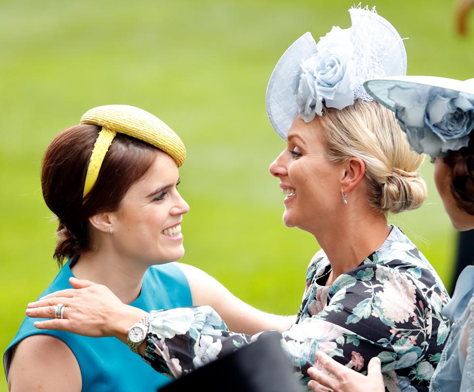 Princess Eugenie and Zara Tindall both paid tribute to their grandfather by naming their newborns after him. Photo: Getty
