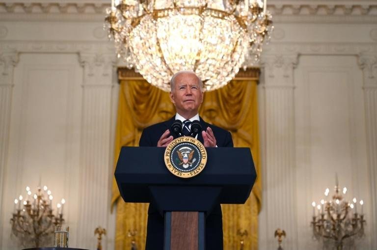 US President Joe Biden said he will make Covid-19 booster shots available to all adult Americans beginning September 20, 2021 as his administration seeks ways to counter vaccines' declining effectiveness against infection