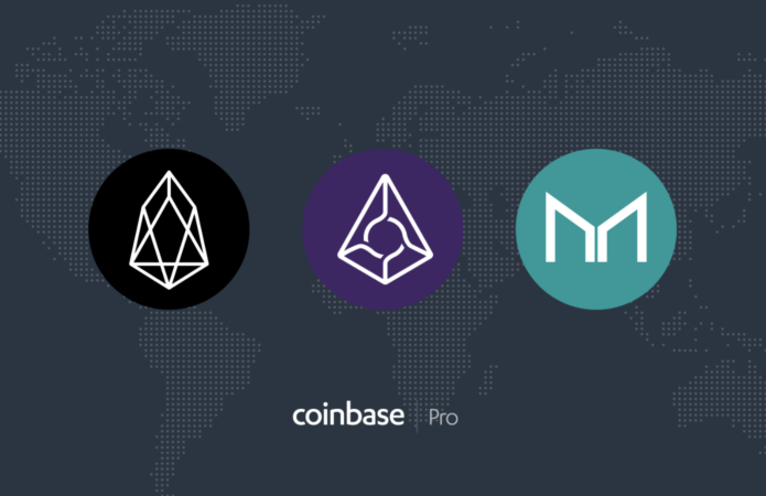 Coinbase Pro to list EOS, Augur, and Maker