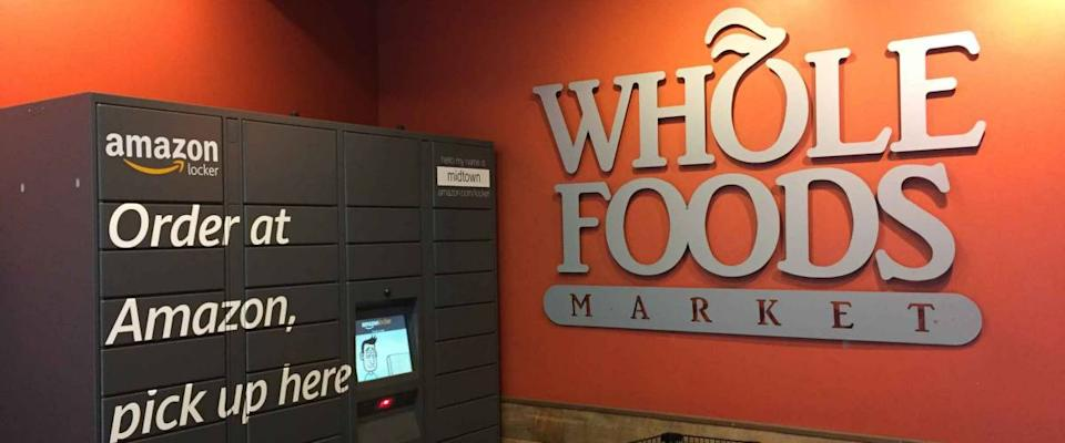 <cite>NYCStock / Shutterstock</cite> <br>Amazon Prime customers get discounts at Whole Foods supermarkets.<br>