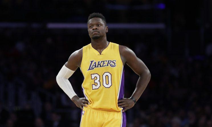 Julius Randle was the seventh overall pick in 2014. (AP)