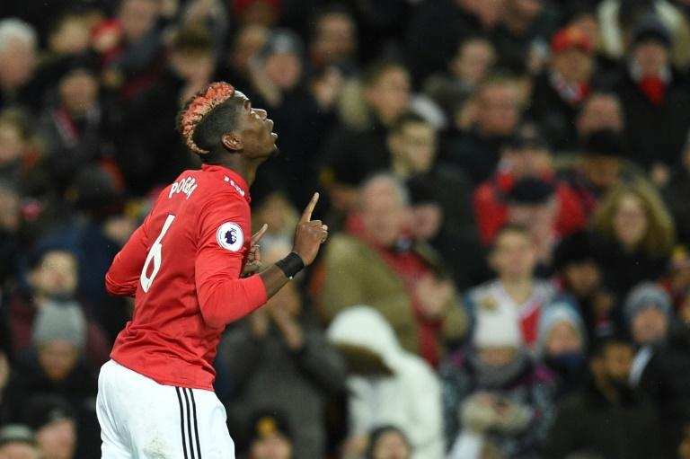Manchester United's Paul Pogba, coming back from a 12-match lay-off with a hamstring problem, started the game and played a pivotal role against Newcastle