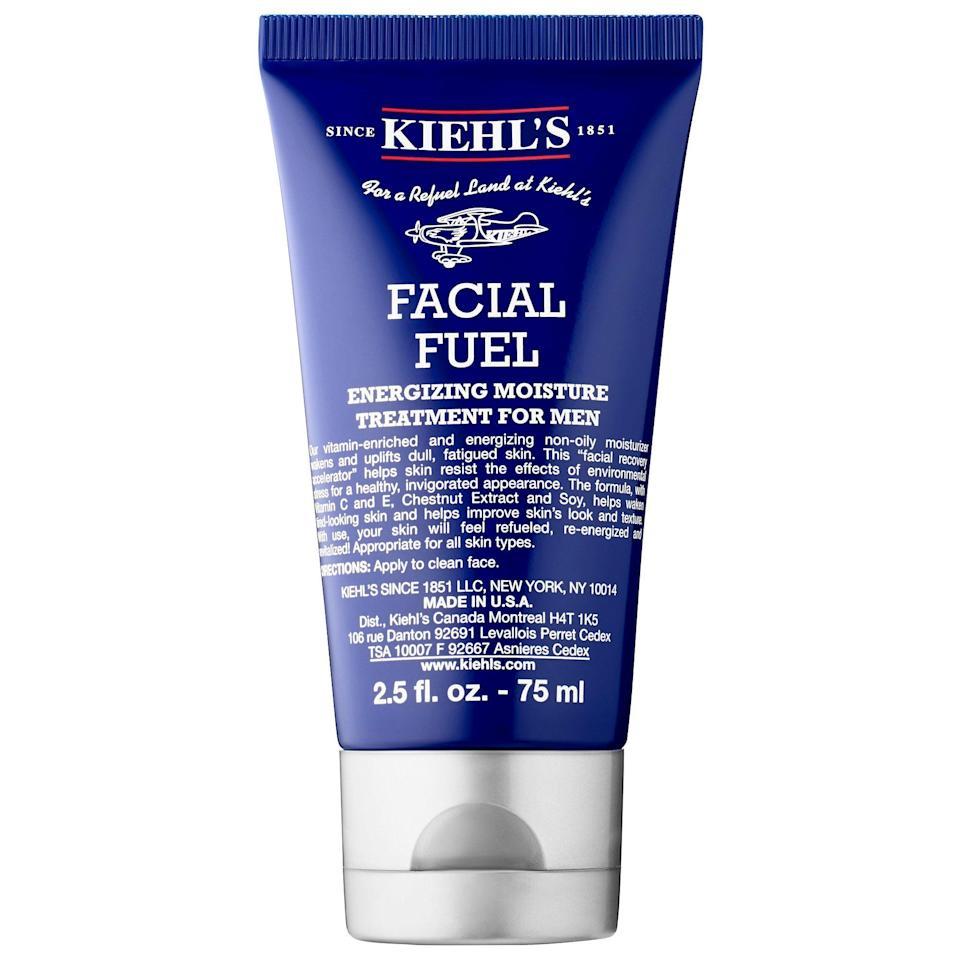 """<p><strong>Kiehl's Since 1851</strong></p><p>sephora.com</p><p><strong>$28.00</strong></p><p><a href=""""https://go.redirectingat.com?id=74968X1596630&url=https%3A%2F%2Fwww.sephora.com%2Fproduct%2Ffacial-fuel-energizing-moisture-treatment-for-men-P422638&sref=https%3A%2F%2Fwww.menshealth.com%2Ftechnology-gear%2Fg35184277%2Fvalentines-day-gifts-for-men%2F"""" rel=""""nofollow noopener"""" target=""""_blank"""" data-ylk=""""slk:BUY IT HERE"""" class=""""link rapid-noclick-resp"""">BUY IT HERE</a></p><p>Let's face it: Everyone should moisturize. If he's hesitant, start off his skincare routine with this very manly facial fuel that'll give him baby skin skin. </p>"""