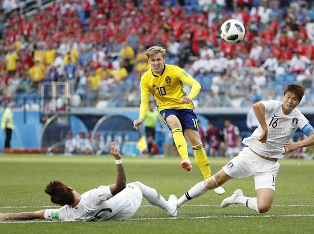 Sweden vs South Korea, World Cup 2018: Emil Forsberg does little to entice Liverpool and Arsenal, scouting report