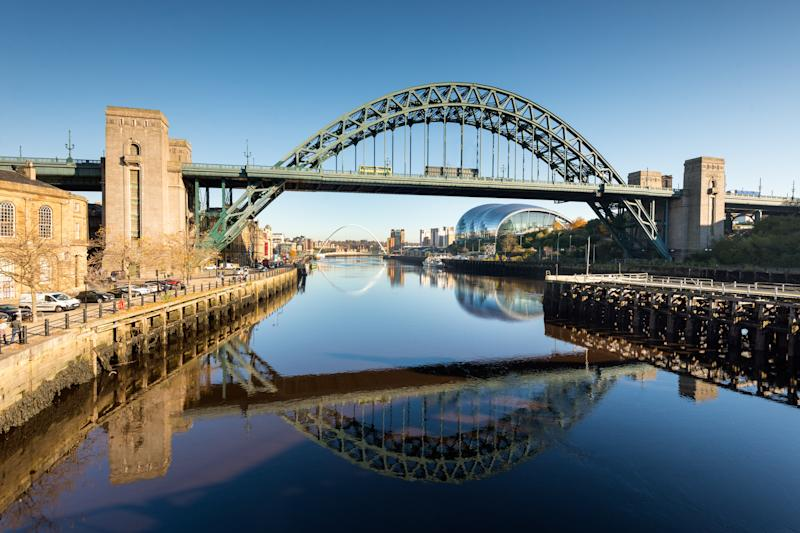 The Tyne Bridge over the River Tyne in Newcastle Upon Tyne. [Photo: Getty]