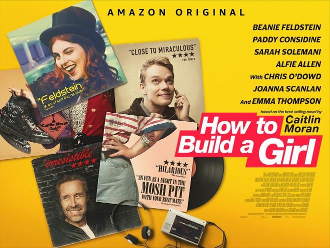 The new poster for How To Build A Girl. (Amazon/Lionsgate UK)