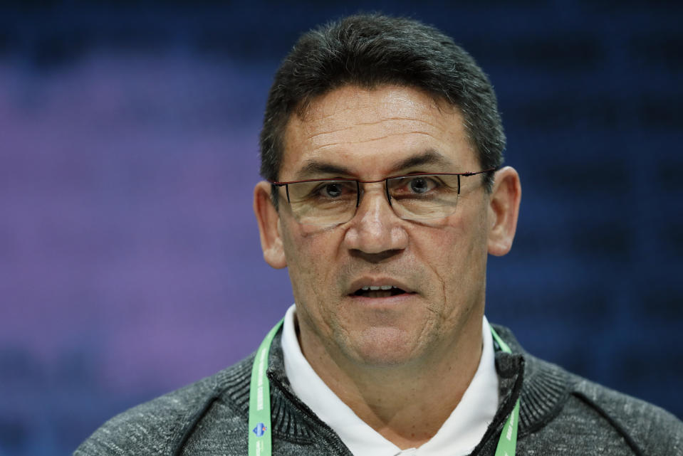 Ron Rivera was hired to be Washington's new head coach this offseason. (Photo by John McDonnell/The Washington Post via Getty Images)