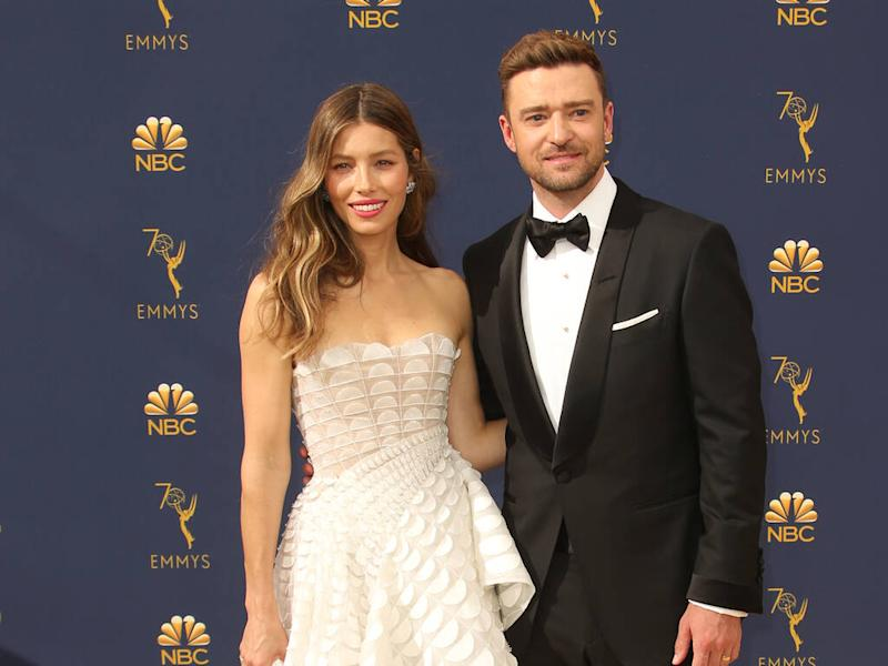 Jessica Biel surprised Justin Timberlake by wearing his *NSYNC outfit for Halloween