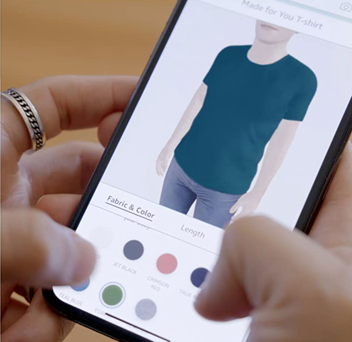 Click, click, click your way to your perfect tee. (Photo: Amazon)