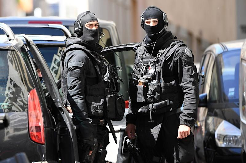 Elite police and intelligence agents carried out the arrests in Marseille