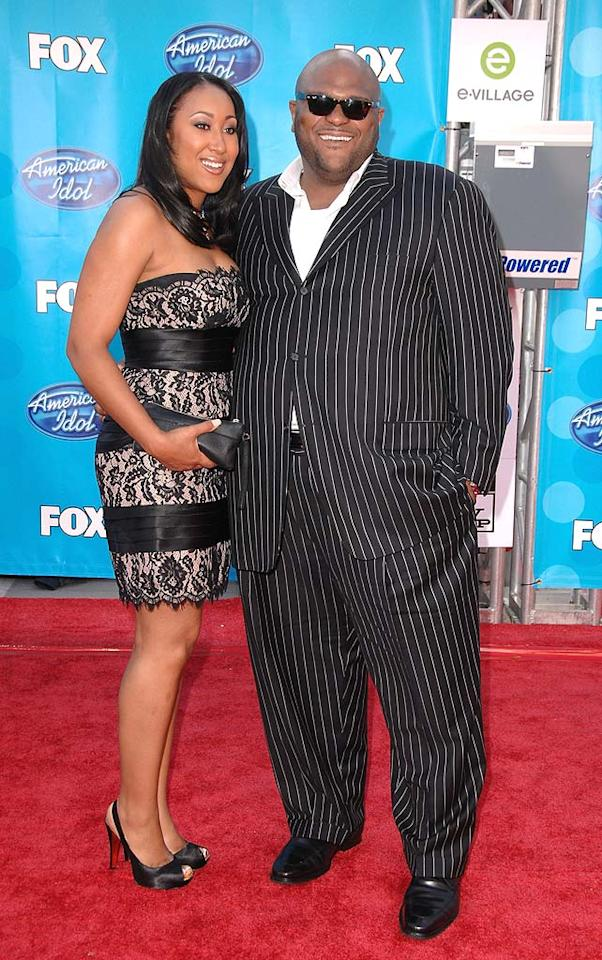 """Ruben Studdard wed Surata Zuri McCants outside his hometown of Birmingham, Alabama on June 28, 2008. The """"American Idol"""" winner did not serenade his bride during the ceremony, leaving the music to a string ensemble. Steve Granitz/<a href=""""http://www.wireimage.com"""" target=""""new"""">WireImage.com</a> - May 21, 2008"""
