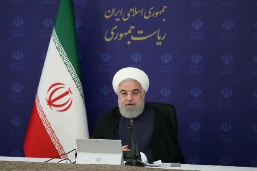 President Hassan Rouhani warns Western decision-makers the world will judge them harshly if they deny Iran's request for an IMF loan to help fight the coronavirus