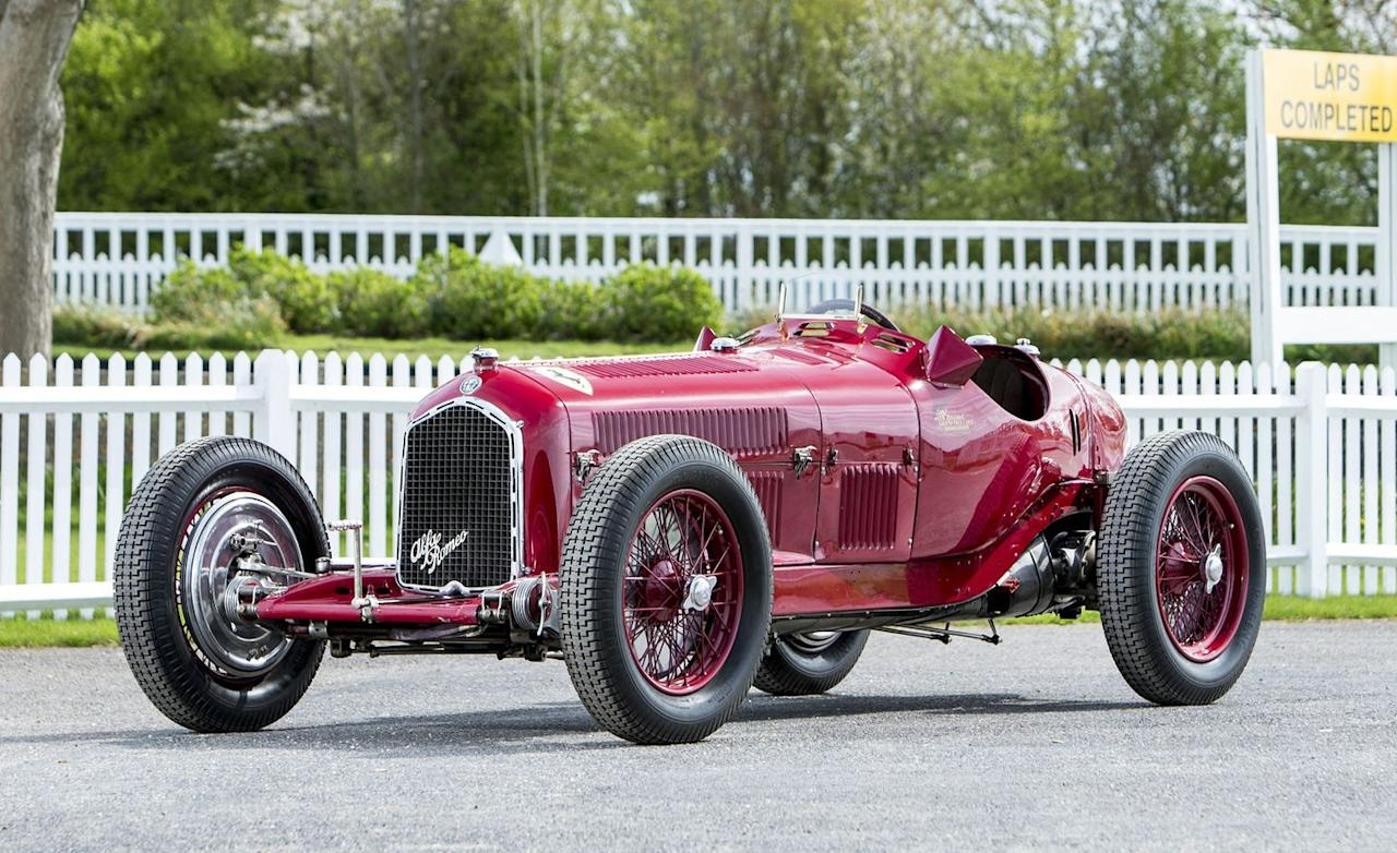 """<p>Scroll through this auction roundup and (spoiler alert!) you're going to see a lot of Ferraris. This is one of the not-Ferraris, an Alfa Romeo . . . but it was originally campaigned by Scuderia Ferrari before it struck out in its own. It is a Tipo B grand-prix racer from the early 1930s, predating the outbreak of the Second World War and the subsequent advent of the modern Formula One World Championship. This Alfa was one of the first """"Monopostos""""-single-seat racing cars with a centered cockpit-and it would go down as one of the most victorious examples. Noted racer, aviator, and collector Richard Ormonde Shuttleworth acquired the Tipo B from the Scuderia in 1935 and drove it to victory in the grand prix at Donington that year. More than eight decades later, <a rel=""""nofollow"""" href=""""https://www.caranddriver.com/features/g22239650/the-10-most-expensive-cars-sold-at-the-2018-goodwood-auction/?slide=10"""">it sold at Goodwood in July 2018 for £4.6 million</a>, which translates to just over $6 million in U.S. dollars.</p>"""