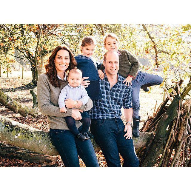 "<p>For <a href=""https://www.cosmopolitan.com/uk/reports/a25582144/prince-william-kate-middleton-family-christmas-card-portrait-photo/"" rel=""nofollow noopener"" target=""_blank"" data-ylk=""slk:the Cambridge's Christmas card in 2018"" class=""link rapid-noclick-resp"">the Cambridge's Christmas card in 2018</a>, the whole family posed outdoors at their Norfolk home, Anmer Hall. Although the picture wasn't released until Christmas time, the autumnal colours and the look of the leaves suggest the portrait was actually taken in October or November, making Prince Louis six or seven months old. Doesn't he look like an adorable little old man??</p><p><a href=""https://www.instagram.com/p/BrXYSdHFcz-/"" rel=""nofollow noopener"" target=""_blank"" data-ylk=""slk:See the original post on Instagram"" class=""link rapid-noclick-resp"">See the original post on Instagram</a></p>"
